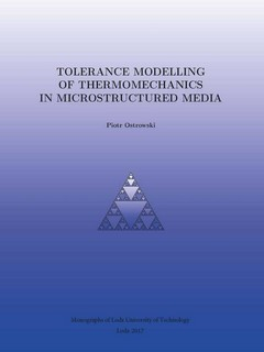 Tolerance modelling of thermomechanics in microstructured media