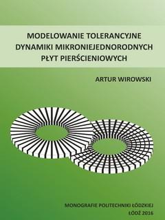 Modelowanie tolerancyjne dynamiki mikroniejednorodnych płyt pierścieniowych
