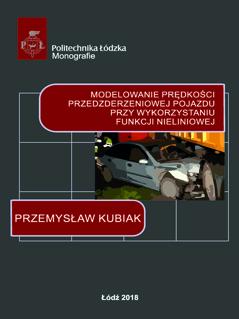 Modelowanie prędkości przedzderzeniowej pojazdu przy wykorzystaniu funkcji nieliniowej