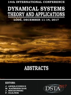 14th Conference on Dynamical Systems Theory and Applications DSTA 2017 Abstracts