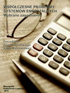 Współczesne problemy systemów emerytalnych. Wybrane zagadnienia