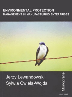 Environmental protection management in manufacturing enterprises