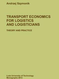 Transport economics for logistics and logisticians