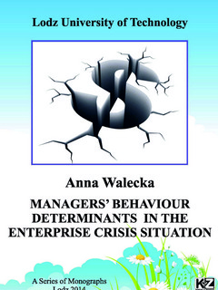 Managers' behaviour determinants in the enterprise crisis situation