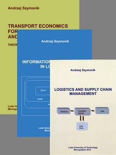 ZESTAW: Trzy książki z logistyki A Szymonika w komplecie