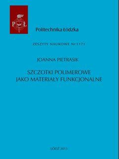 Szczotki polimerowe jako materiały funkcjonalne